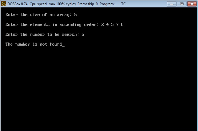 Write a c program for binary search using recursion best personal statement editing for hire for school