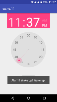 Android Application that creates Alarm Clock - Coding Connect